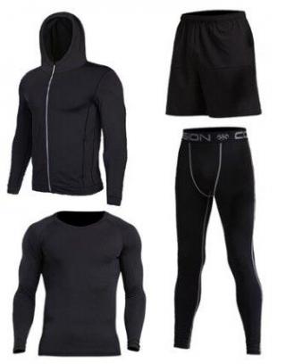 Спортивный костюм для бега, фитнеса. (утеплённый)